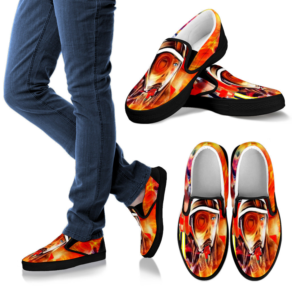 Men's slipons shoes Fireman