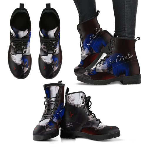 Women's leather boots soul stealer