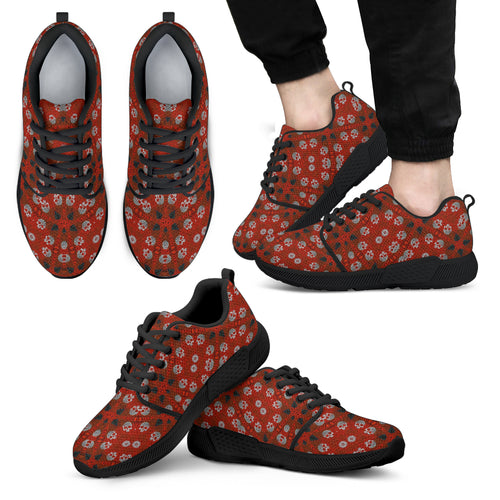 men athletic sneakers skulls