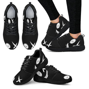 Women's athletic sneakers DLF blk on blk bottoms
