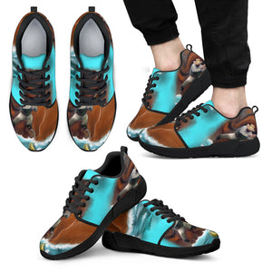mens athletic sneakers fisherman