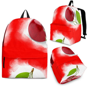Backpacks Cherry red