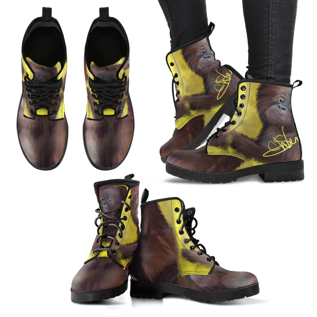 Women leather boots baby Gor leather