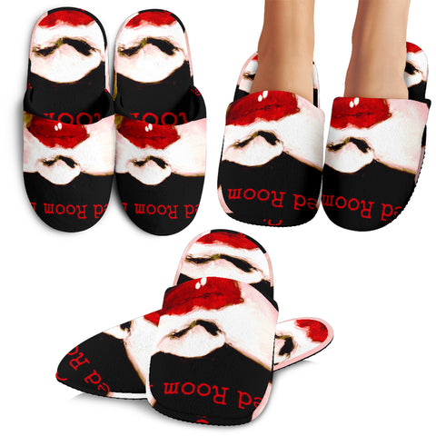 Slippers, red room dare collection