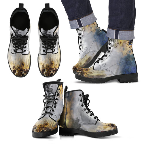 Men's leather boots Whispering harbor leather