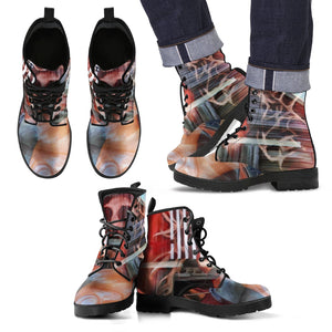 Men's leather boots Patriot leather
