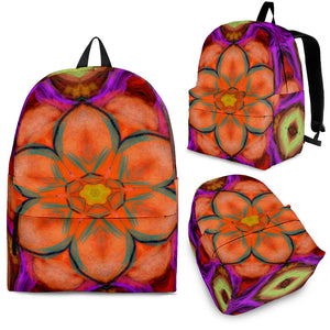 Backpacks Orange/purple