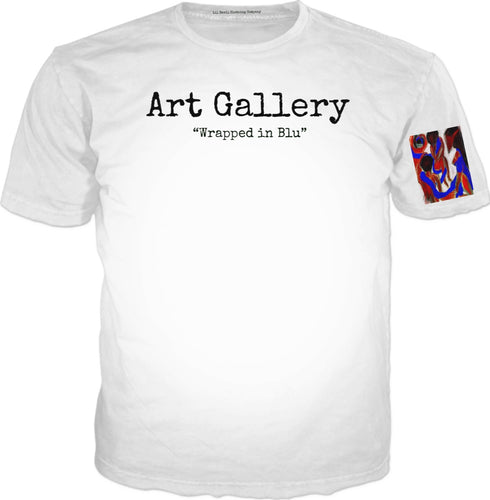 T-shirts Art gallery Wrapped In Blu