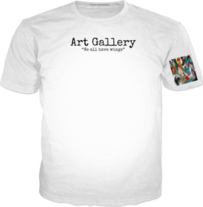 T-shirts Art Gallery We All Have Wings
