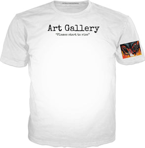 T-shirts Art Gallery Fames Start To Rise