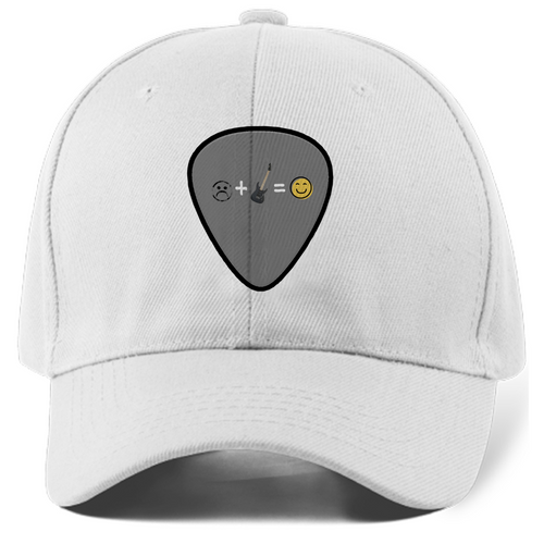 Hat guitar pick