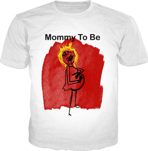 T-shirts/mommy To Be