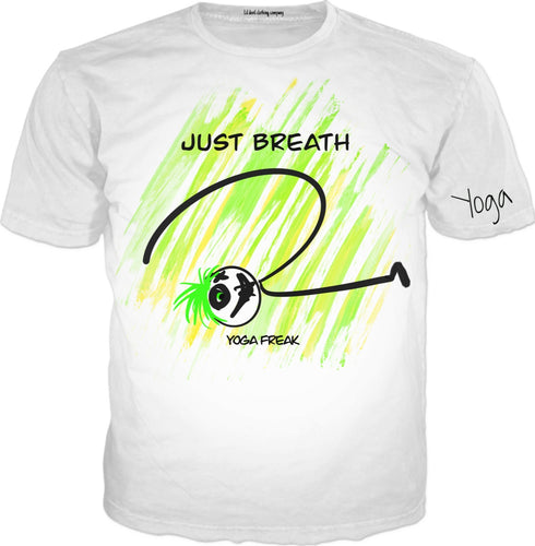 T-shirts Just Breath Yoga