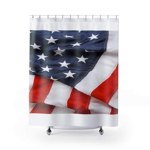 Shower Curtains American flag