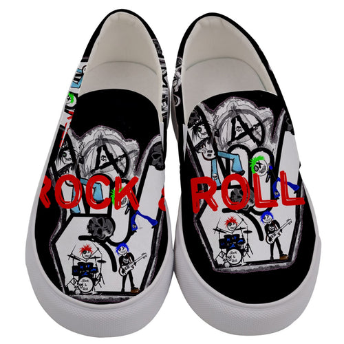 Men's slipon/anarchy rock and roll