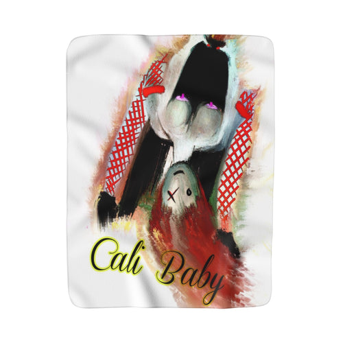 Sherpa Fleece Blanket Cali baby