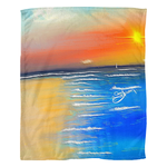 Blanket fleece sunset1