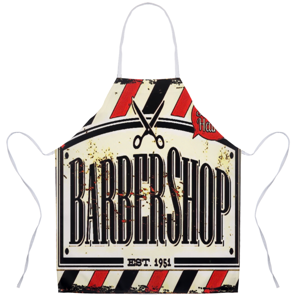 Barber theme Aprons21