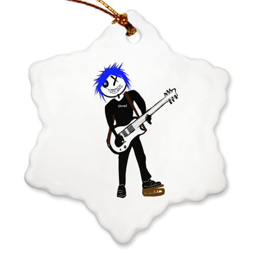 Porcelain Ornaments Guitarist