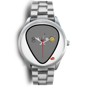 Designer watches guitar pick