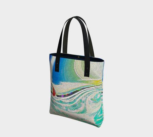 Tote bag Sailing