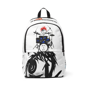 Unisex Fabric Backpack drummers dlf