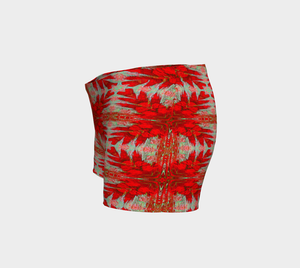 Shorts Red floral