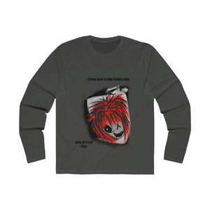 Men's Long Sleeve Crew Tee really side
