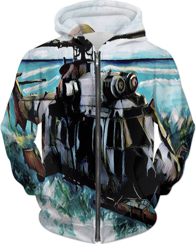 Hoodies Abstract Collection Military