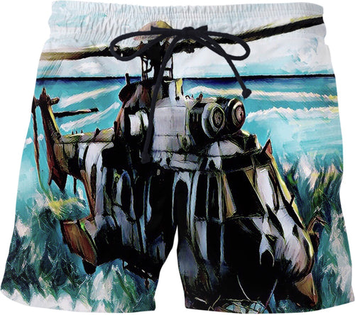 Swim shorts Abstract Collection Military