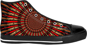 High Top Shoes Abstract Collection Indian41