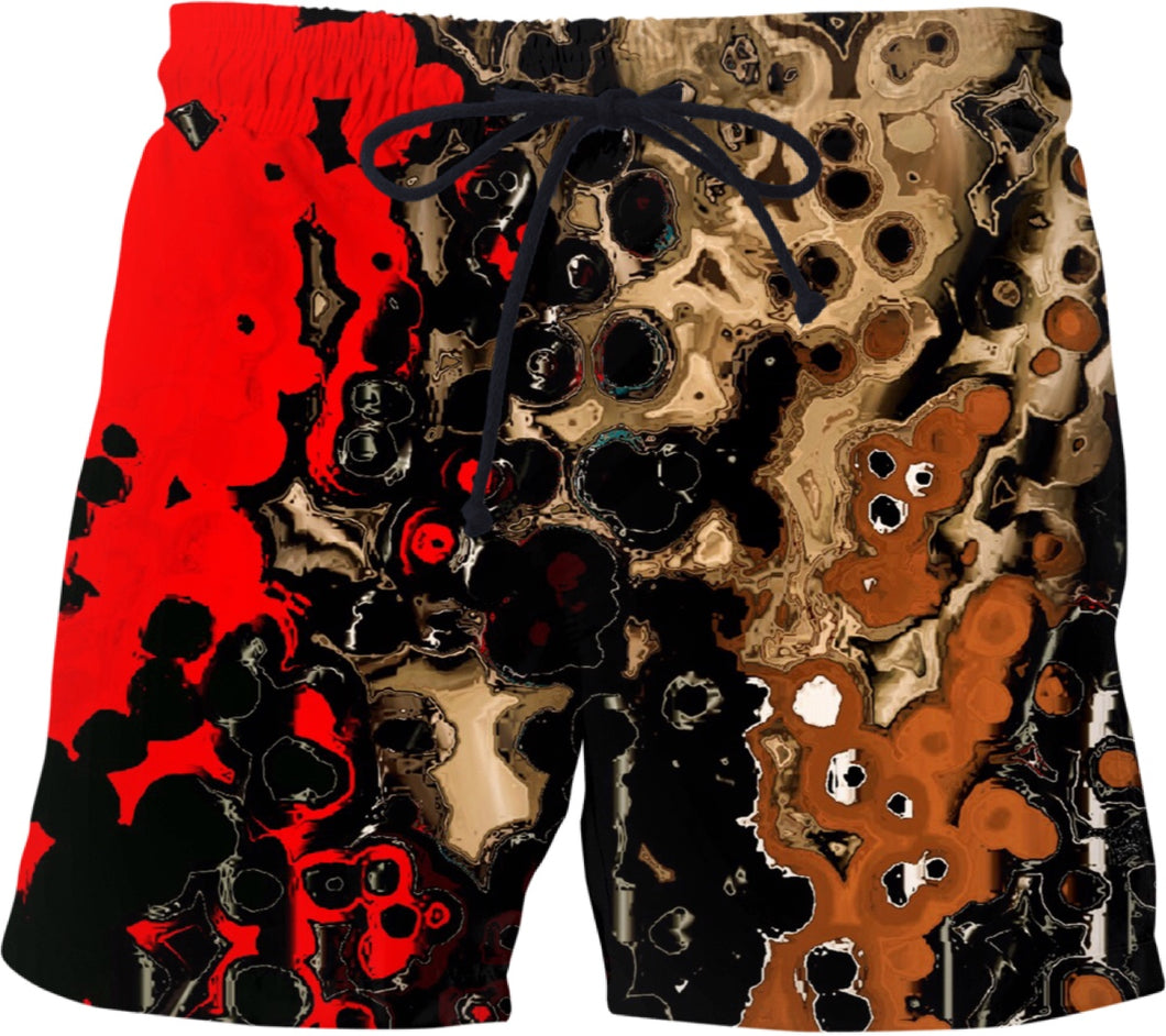 Swim shorts Abstract Collection Indian16
