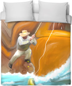 Duvet covers Abstract Collection Fishing