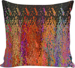 Couch pillows Abstract Collection Raining Colors