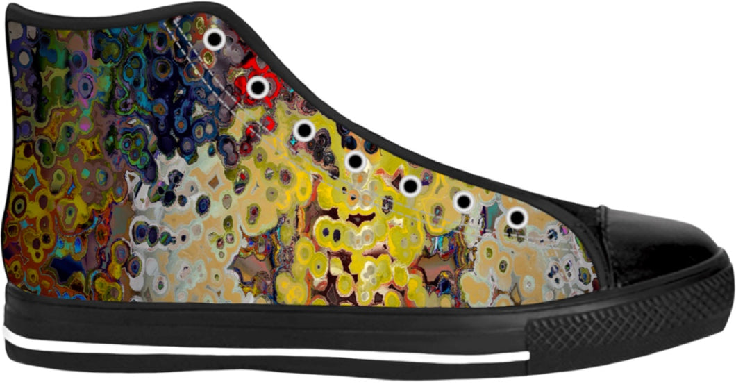 High tops shoes Abstract Collection51