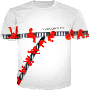 T-shirts Abstract Collection Crack Crawlers
