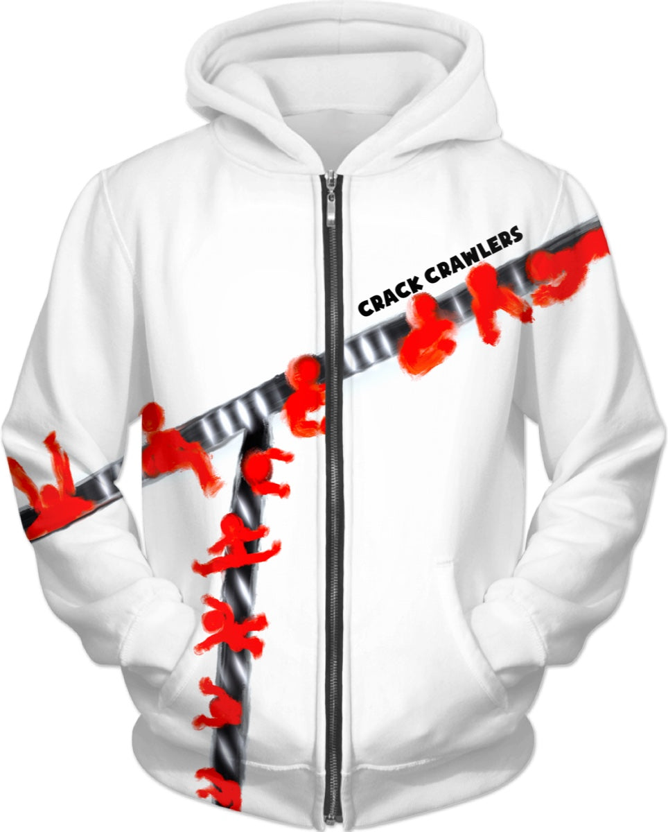 Hoodies Abstract Collection Crack Crawlers