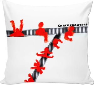 Couch pillows Abstract Collection Crack Crawlers