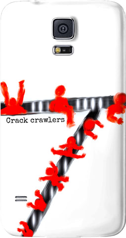 Cell Phone Cases Galaxy cases Abstract Collection Crack Crawlers