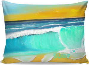 Pillow cases Ocean Painting Surf2