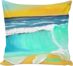 Couch pillows Ocean Painting Surf