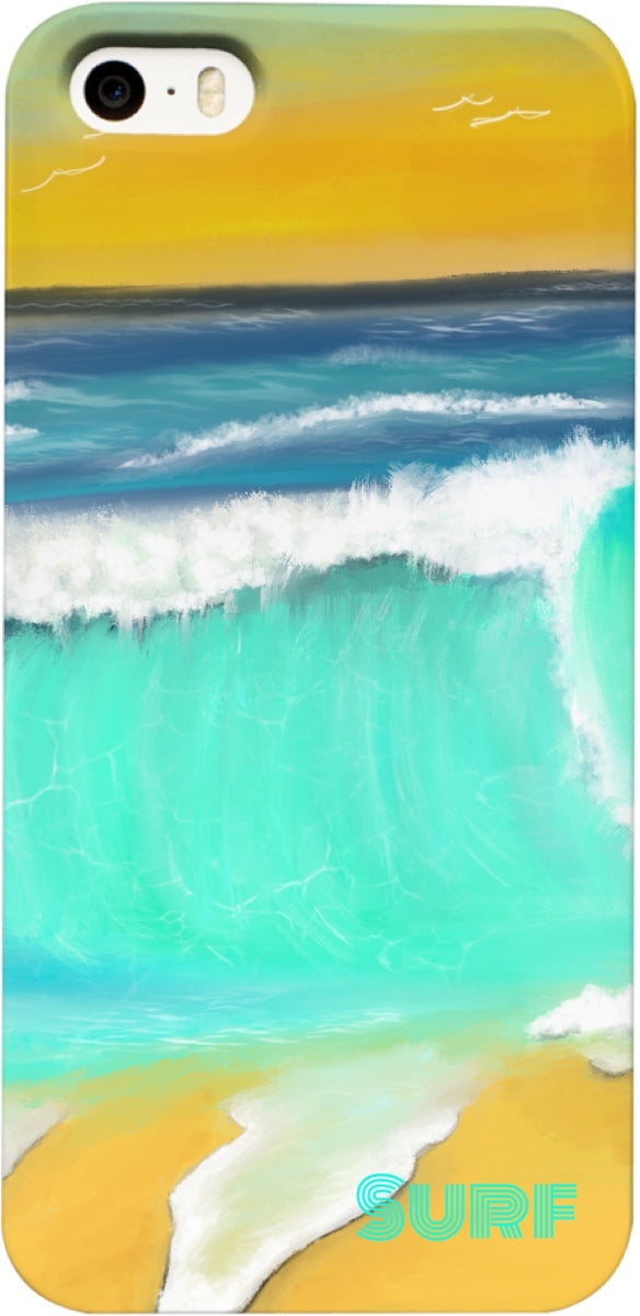 Cell phone case/Ocean Painting Surf