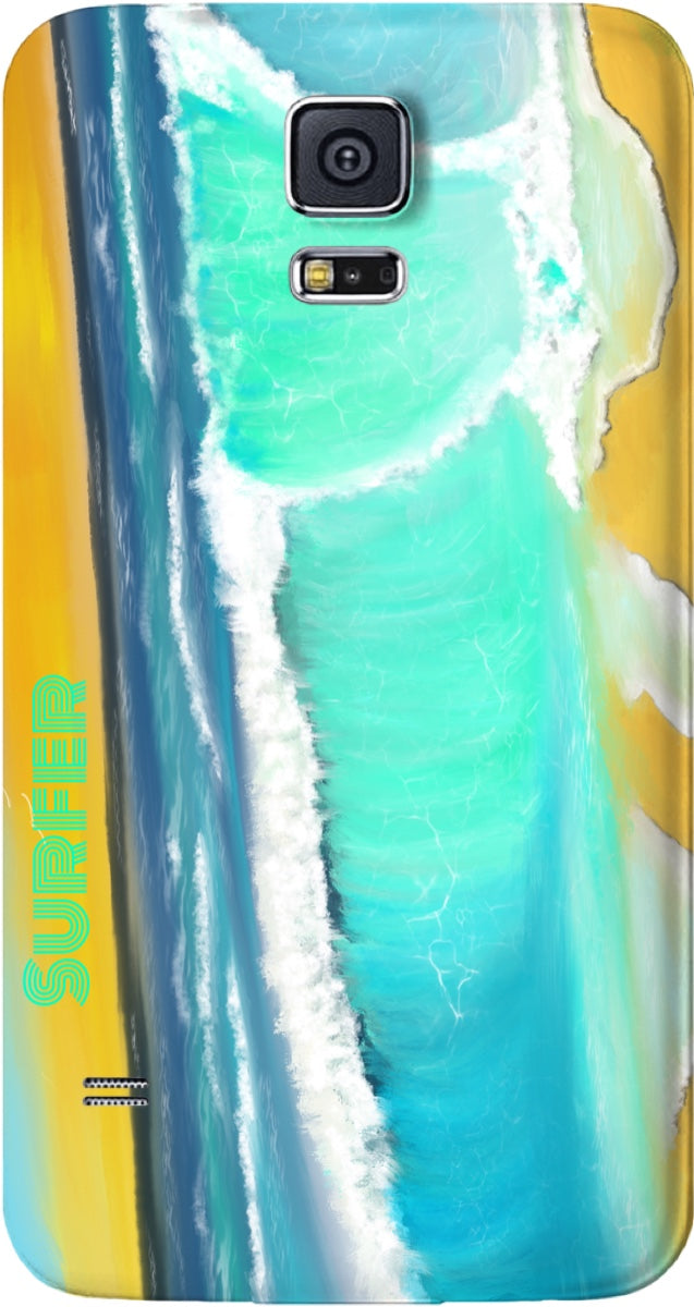 Cell Phone case/Ocean Painting Surfer