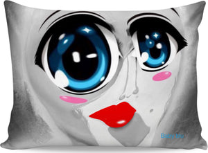 Pillow cases Abstract Collection Baby Blu