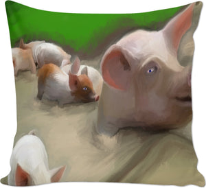 Couch pillows Painting Collection Mud Play