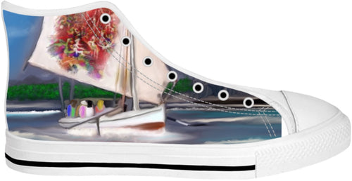 High Top Shoes Abstract Collection4