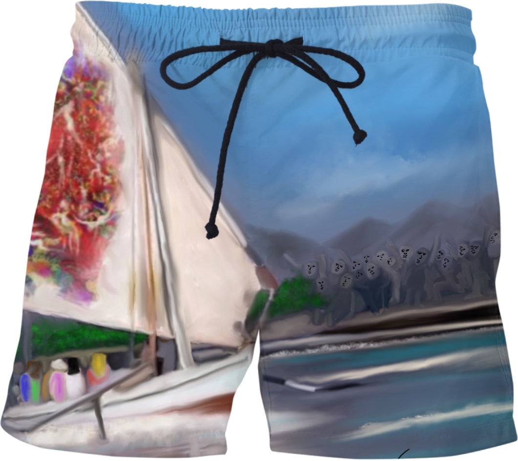Swim shorts Abstract Collection swim shorts29
