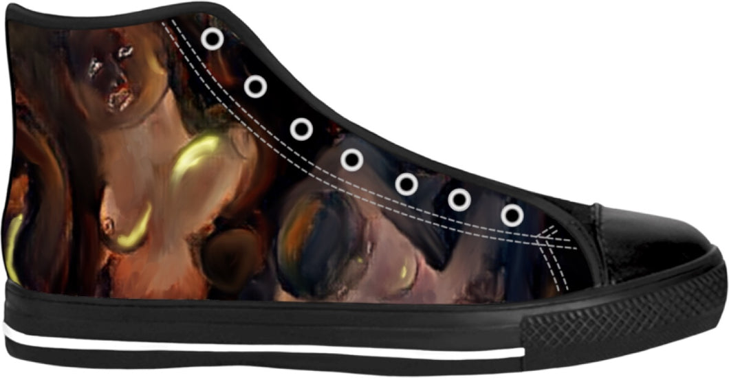 High Top Shoes Abstract Collection6
