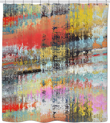 Shower curtain Abstract Collection10