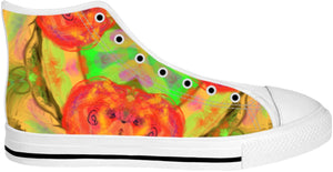 High Top Shoes Abstract Collection11